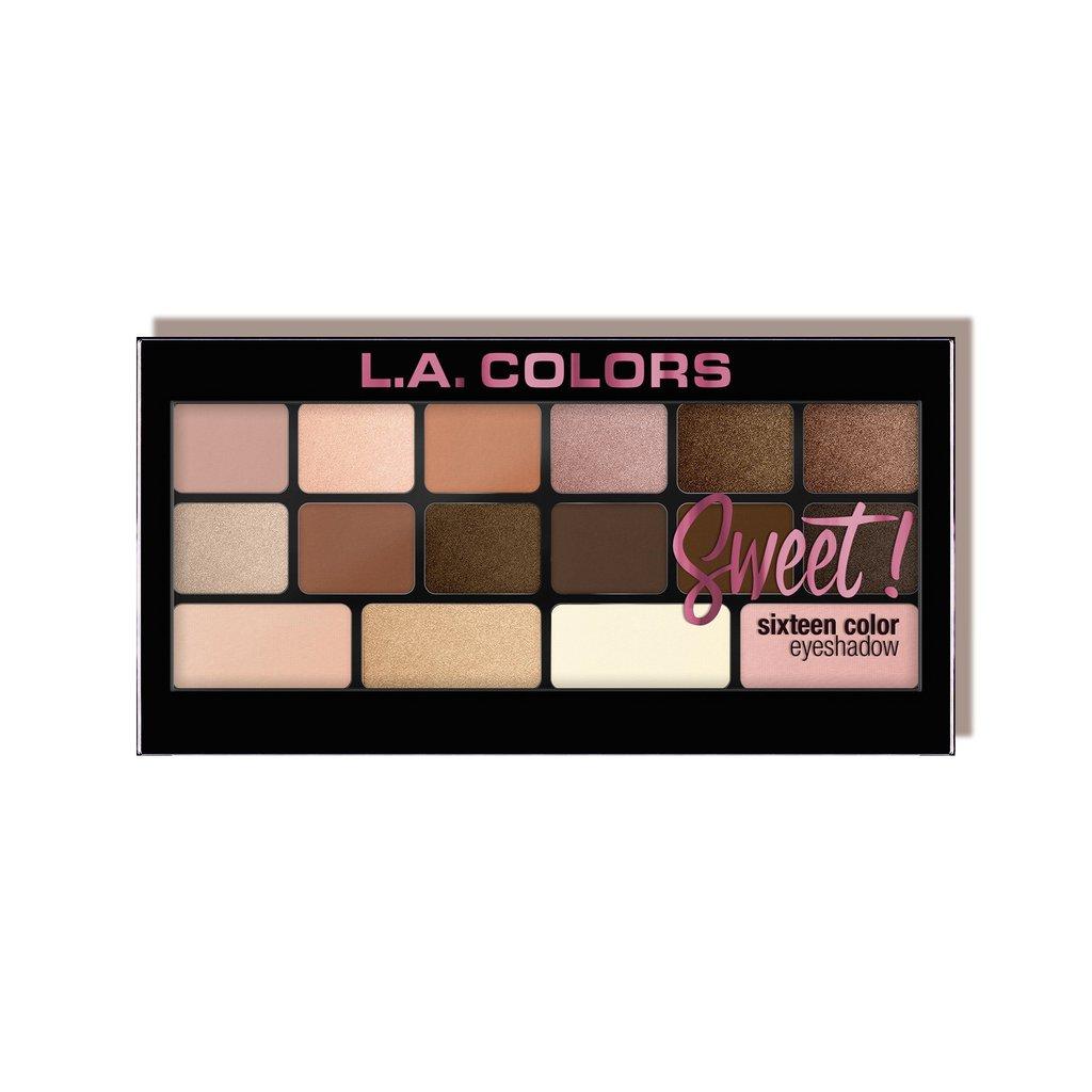 Sweet 16 Color Eyeshadow La Colors New Zealand